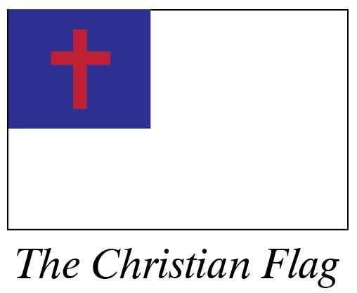 Christian Flag 3' X 5'