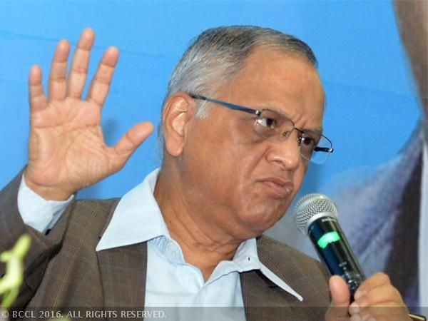 Indian IT companies act as immigration agents, says NR Narayana Murthy - The Economic Times