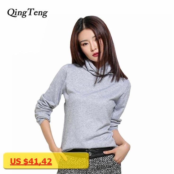 black turtleneck sweater women pullover women knitted sweater 2016 autumn winter cashmere sweater women fashion sueter mujer xl