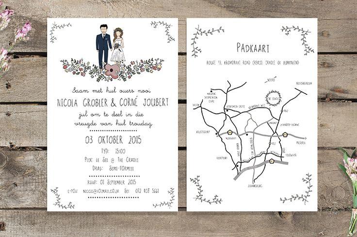 Wedding Invite | Wedding Stationary | Couple Illustration #weddinginvite #weddingstationery #illustration #graphicdesign