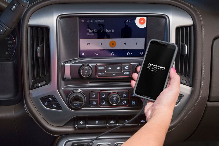 A software upgrade enabling Android AutoTM phone compatibility for 2016 GMC Canyon, Sierra and Yukon models equipped with the 8-inch IntelliLink system wil