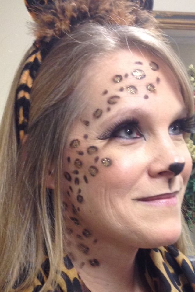 25+ Best Ideas About Leopard Face Paint On Pinterest | Animal Makeup Tiger Halloween Costume ...