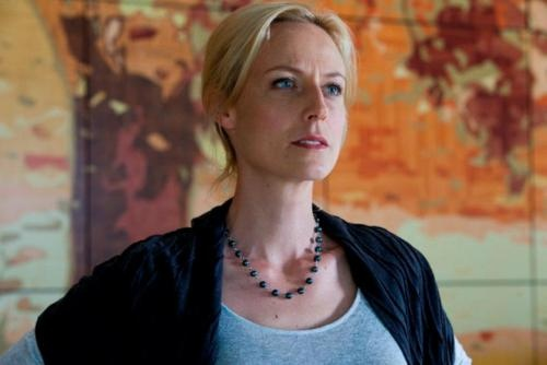 She is an incredible actress and an inspiration to me. Marta Dusseldorp - Janet King in Crownies.