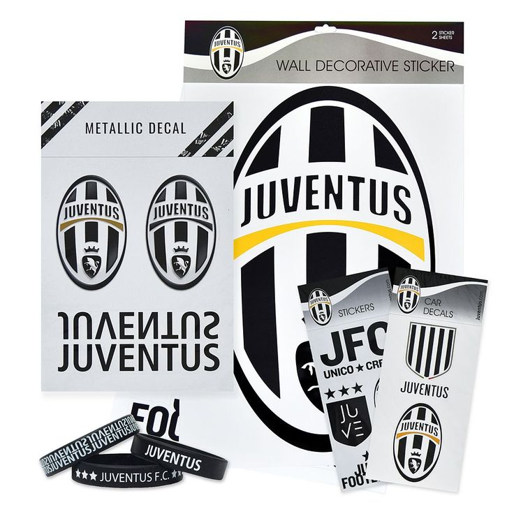 Juventus FC Ultimate Fan Pack, Multicolor