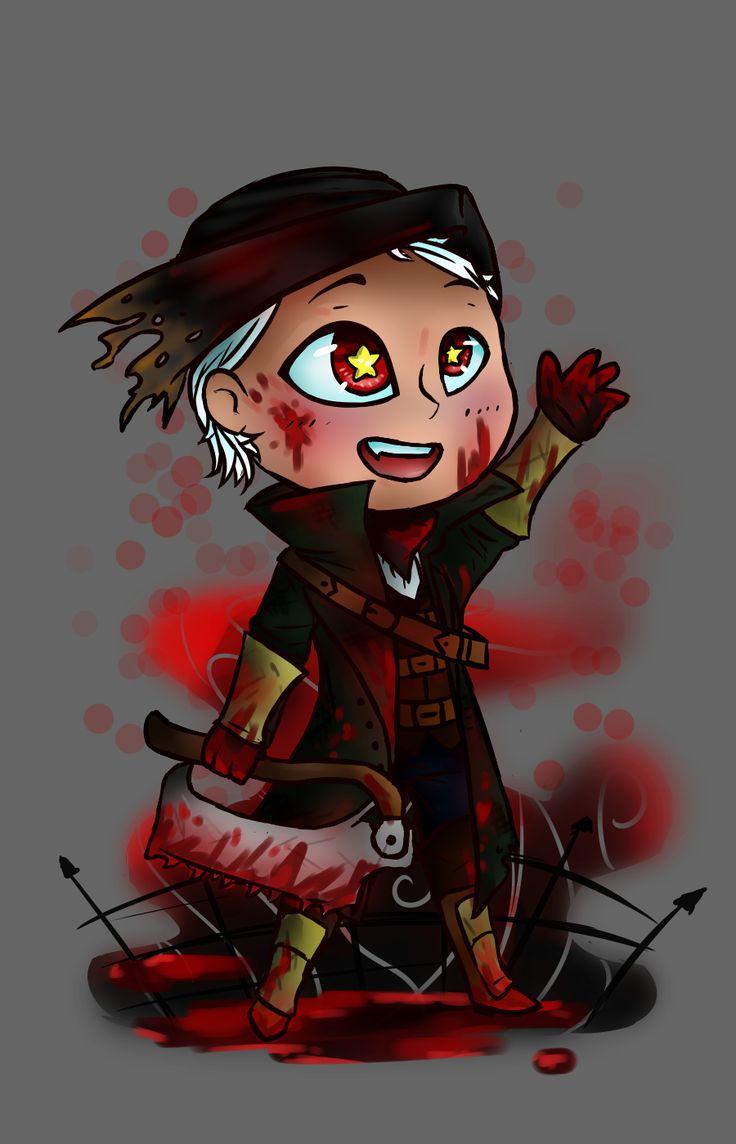 Chibi hunter from Bloodborne :3