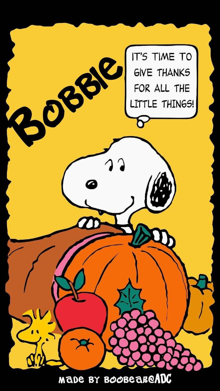 Peanuts Happy Thanksgiving Wallpaper Android Download