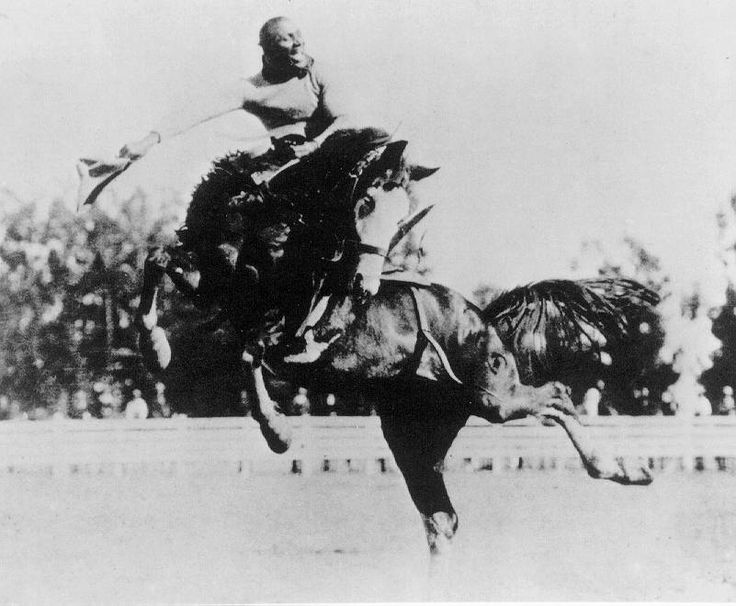 African American cowboy and rodeo rider Jesse Stahl (c. 1879–1935) set the standard of performance in saddle bronc riding that continues to this day. Stahl was a topnotch horseman, a first-class gentleman, and a cowboy who was regarded by many who saw his performances as larger than life.