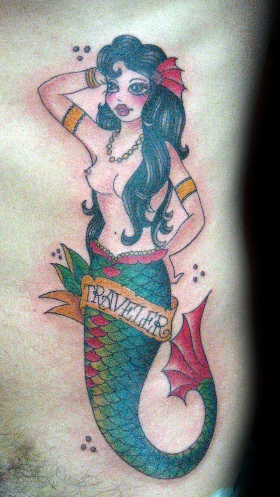 Tatuaje Sirena Pupa Tattoo Granada