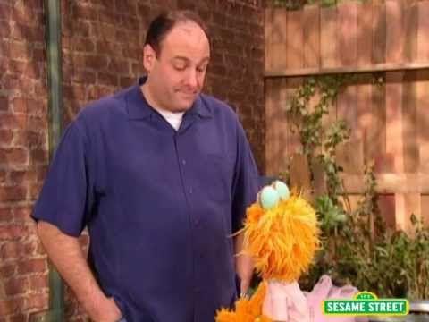 James Gandolfini Talks About Feeling Scared on 'Sesame Street'