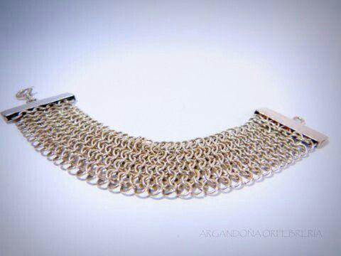 Bracelet silver 9.50