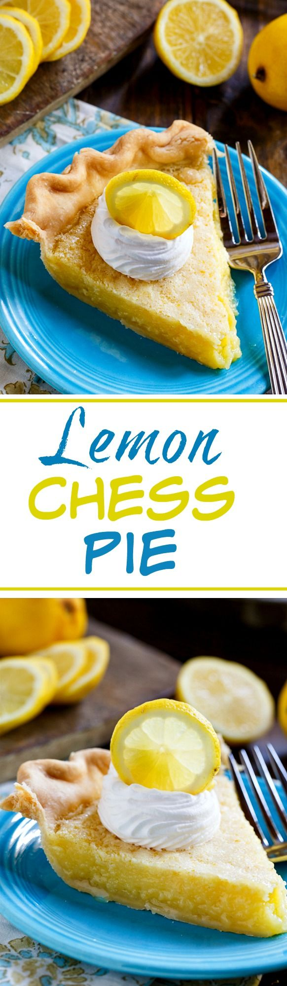 Lemon Chess Pie is an old-fashioned favorite that's perfect for potlucks and picnics.