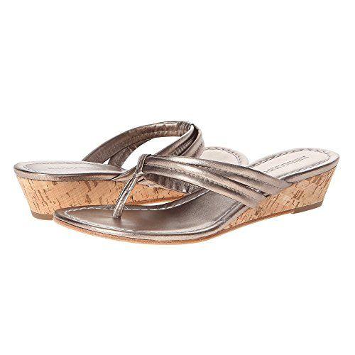 (ベルナルド) Bernardo レディース シューズ・靴 サンダル Miami Wedge 並行輸入品  新品【取り寄せ商品のため、お届けまでに2週間前後かかります。】 表示サイズ表はすべて【参考サイズ】です。ご不明点はお問合せ下さい。 カラー:Platinum Calf/Platinum Calf
