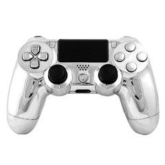 Chrome controller, ps4 chrome controller, modded controllers, ps4 modded controller >> chrome ps4 controller --> http://www.intensafirestore.com/products/ps4-modded-controller-chrome