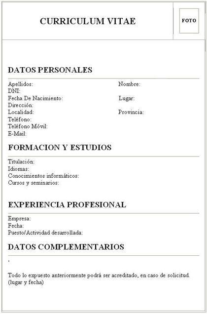 El Curriculum Vitae Curriculum Vitae La Herramienta Indispensable