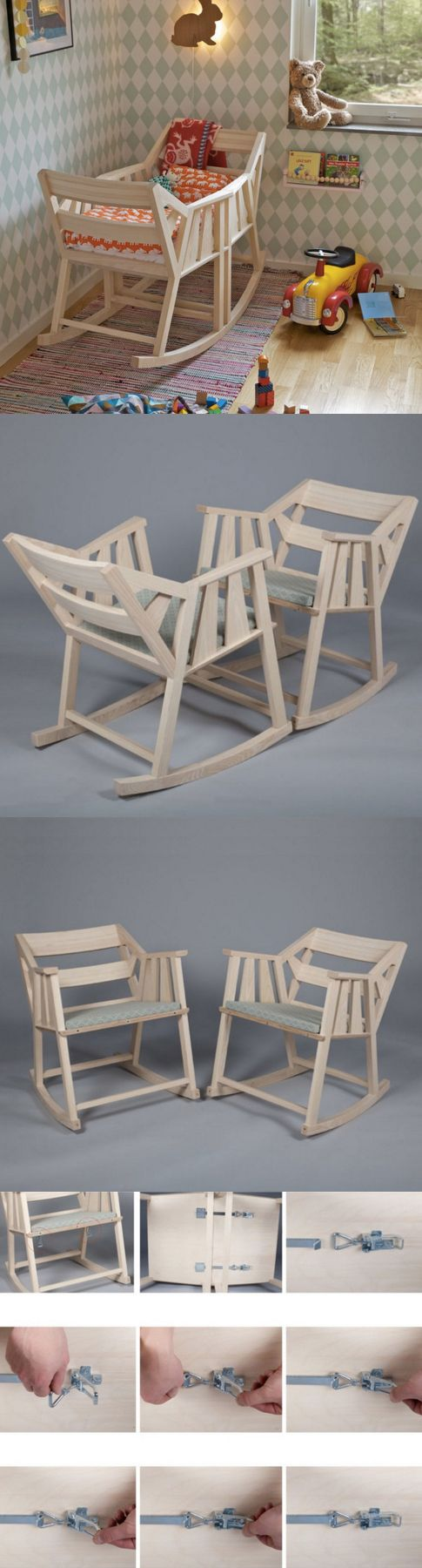 Schaukelstuhl swing insp eames rocking chair rar ahorn - 2 In 1 Babybed And Rocking Chairs Perfect For Your Nursery Http