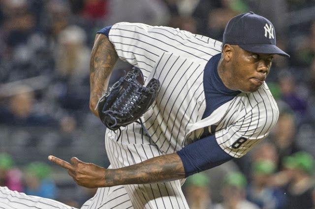 #MLB: Aroldis Chapman ingresa a la la lista de lesionados por inflamación en el hombro