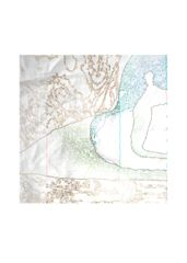 """""""edge"""" silk square scarf: What a beautiful product!"""