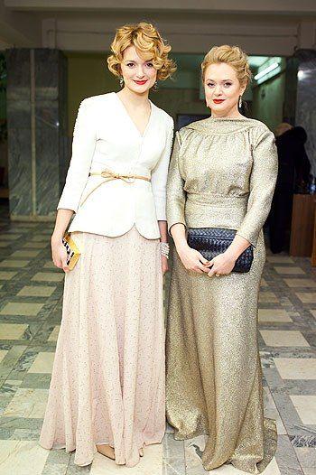 sisters Anna and Nadia Mikhalkov