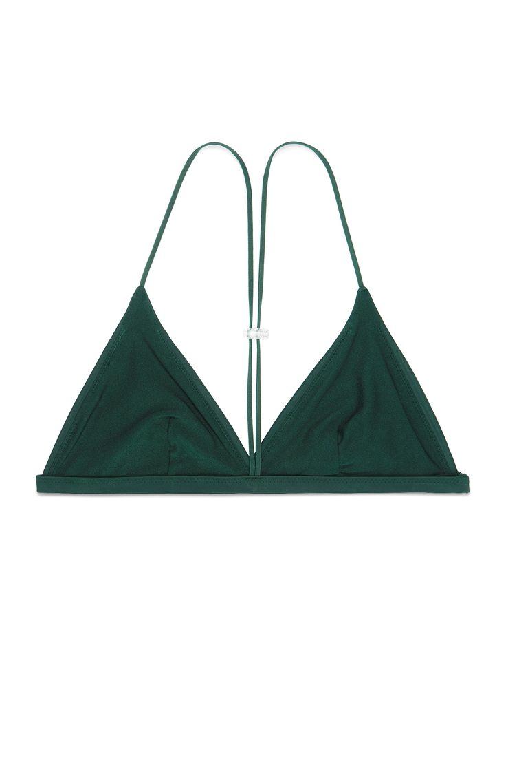 Weekday image 1 of Nene Swim Top in Green Bluish Dark