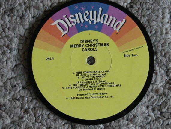 Disney's Christmas Carols by rockcycleonline on Etsy, $4.99