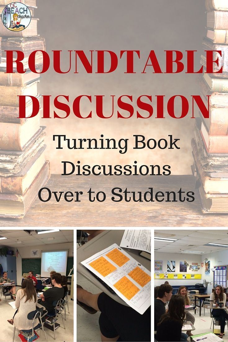 "I have experimented with strategies so I would be more comfortable turning the discussion over to my students (and to make them more at ease with taking ownership). These trials turned into my ""Roundtable Discussion,"" and it's become a great success. Both students and administrators praised the use of this discussion format, which I used in my American Literature and AP Literature and Composition classes."