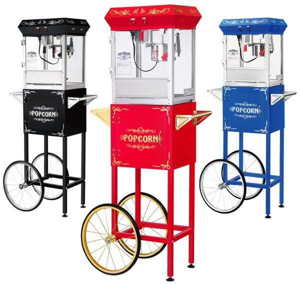 Foundation Popcorn Machine - 4 oz. with Cart