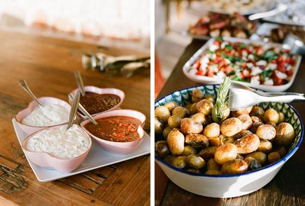 Gemma & Stuart's Ibiza Wedding » Polly Alexandre Photography. Food by Eat Ibiza