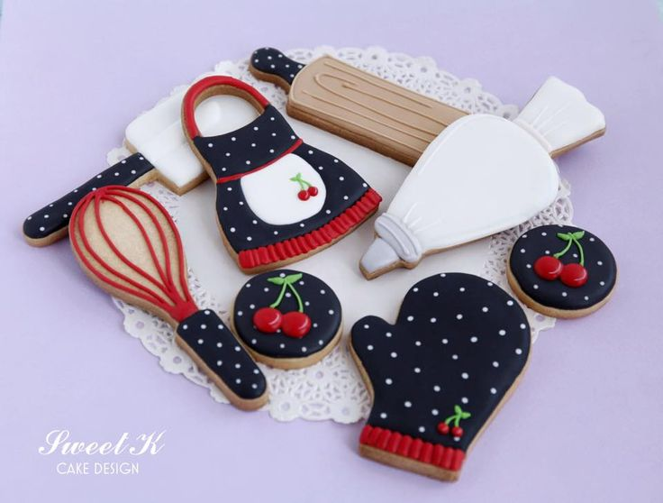 Baking Party Cookies from Sweet K