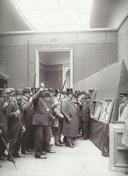 Le Jury du Salon de 1903, Paris. S)