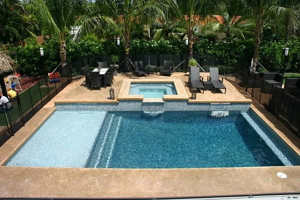 101 best pool baja step tanning shelf images on pinterest for Pool design miami