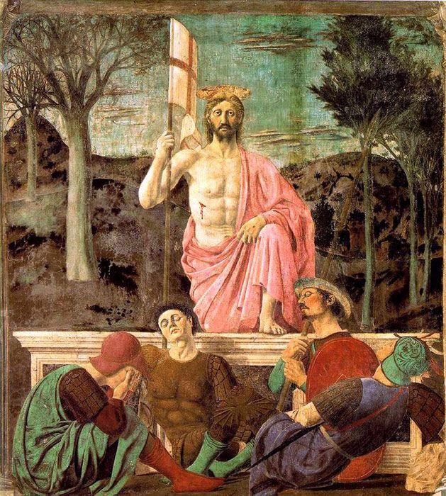 Piero dela Francesca Paintings-Resurrection, 1463-1465