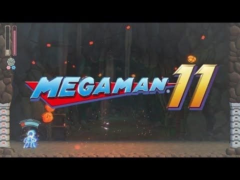 Megaman 11 announced trailer (PS4 Xbox One Switch PC)