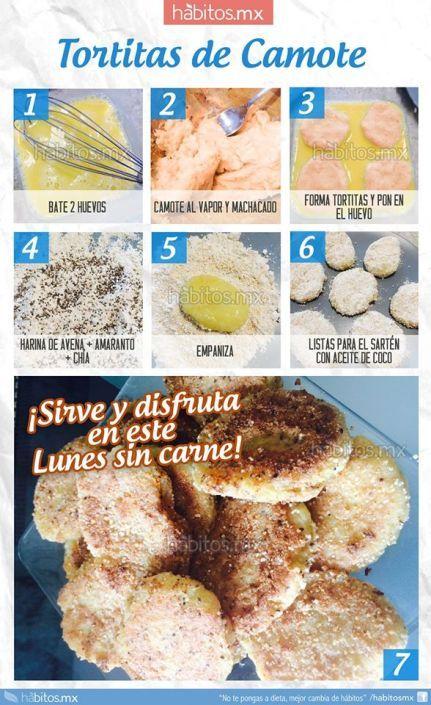 TORTITAS DE CAMOTE