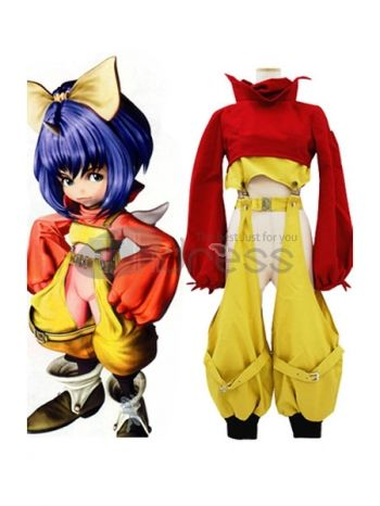 Final Fantasy IX Eiko Carol Cosplay Costume