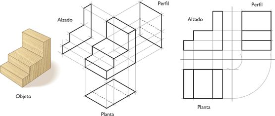 vista isometrica sacar planta y alzado - Buscar con Google