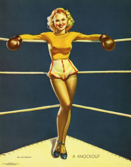How To Get a Pin-Up Girl Body with boxing or martial arts
