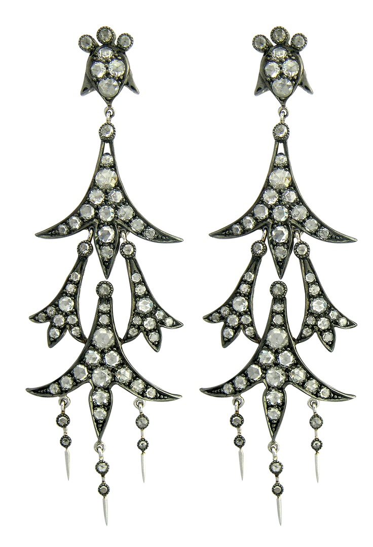 definitely would make a statement!: Agsmember Sethi, Delicious Jewelry, Couture Ja, Couture Collections, Abhijeet Gaiha, Gorgeous Earrings, Abhijeet Sethi, Diamond Earrings
