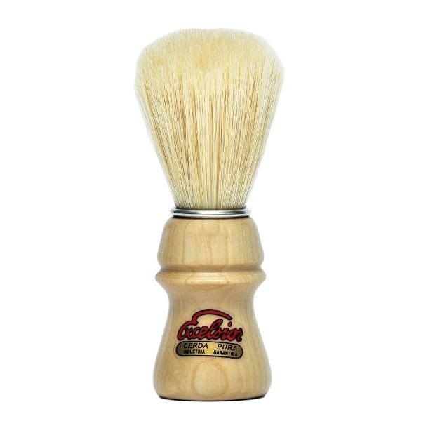 SEMOGUE 1250 Bristle Shaving Brush    Product Details:    - Engraved Oak Wood handle  - Bristle Hair - White Best 90% Tops  - Knot: 22 mm, Loft: 55 mm  - Handle height: 53 mm