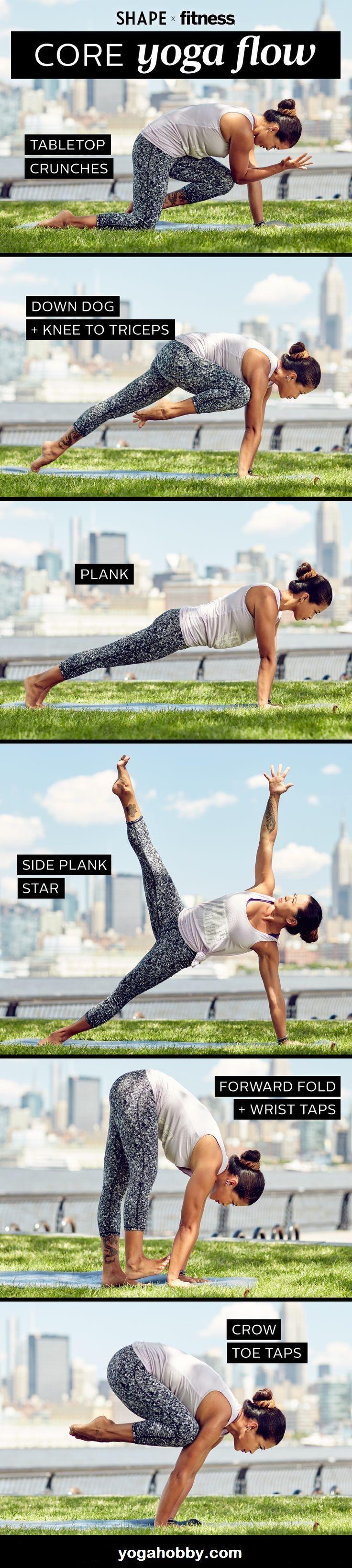 core yoga flow http://yogahobby.com/  #yoga #hatha_yoga #yoga_poses #yoga_for_beginners