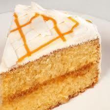 Pastel de naranja envinado