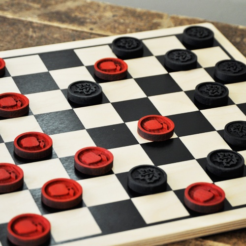 how to win a game of checkers