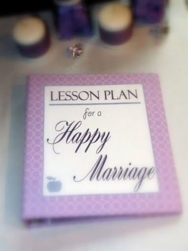 "Photo 7 of 13: Lavender/Teacher / Bridal/Wedding Shower ""Lessons for a Happy Marriage"" 