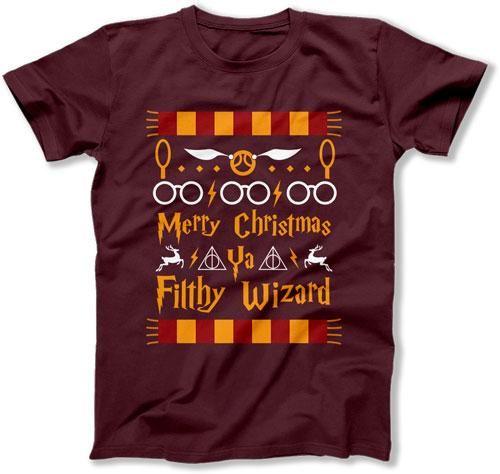 MENS - Merry Christmas Ya Filthy Wizard - TEP-531