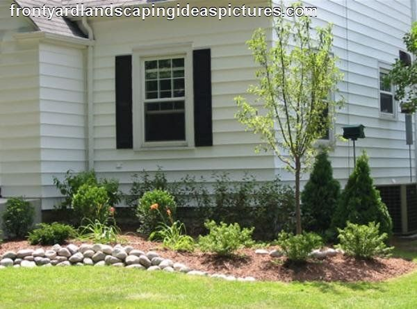66 best landscape ideas images on pinterest landscaping for Simple front yard landscaping ideas
