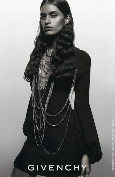 Lakshmi Menon for Givenchy Fall Winter 2008 by Inez & Vinoodh