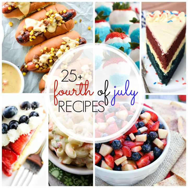 Over 25 Perfect 4th of July Recipes