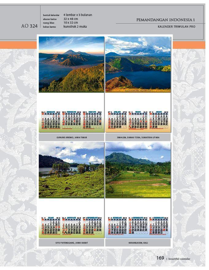 Kalender 2015 AO - Triwulan 3 Bulanan - Free Download Jpg Thumbnails Quality Preview - Tema Foto Gambar Pemandangan Alam Indonesia