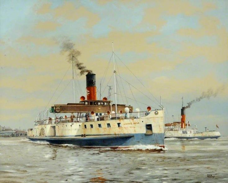 Paddle Steamer 'Lincoln Castle' by Colin Verity
