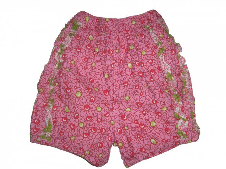 Maat 86 Roze bloemen print Korte Broek  Merk: Oilily