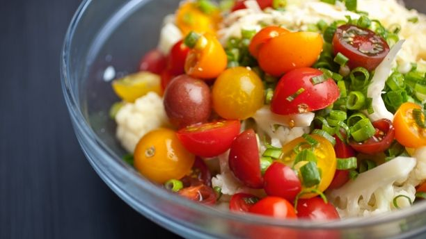 Recettes - Signé M - TVA - Salade chou-fleur parmesan